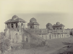 Jahaj Mahal from the East, [Mandu]